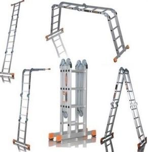 Четырехсекционные лестницы трансформеры