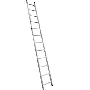Лестница алюминиевая односекционная приставная 5112