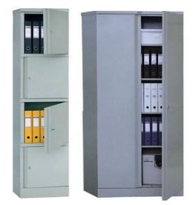 Стальной шкаф для старых документов