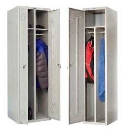 Гардеробный шкаф из металла
