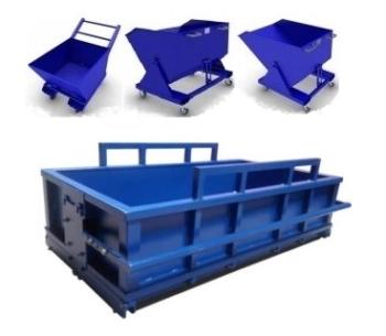 Тара, контейнеры производственные металлические