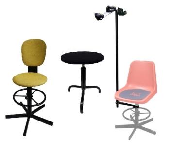 Табуреты и стулья сварщика