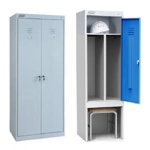 Шкафы для одежды металлические: шкафы для гардеробов и раздевалок