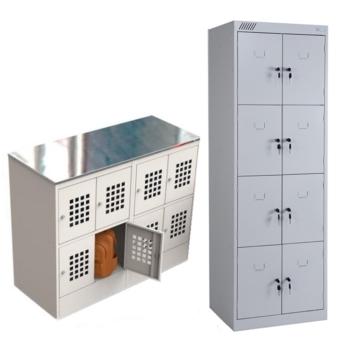 Шкафы для сумок и личных вещей и камеры хранения для магазинов